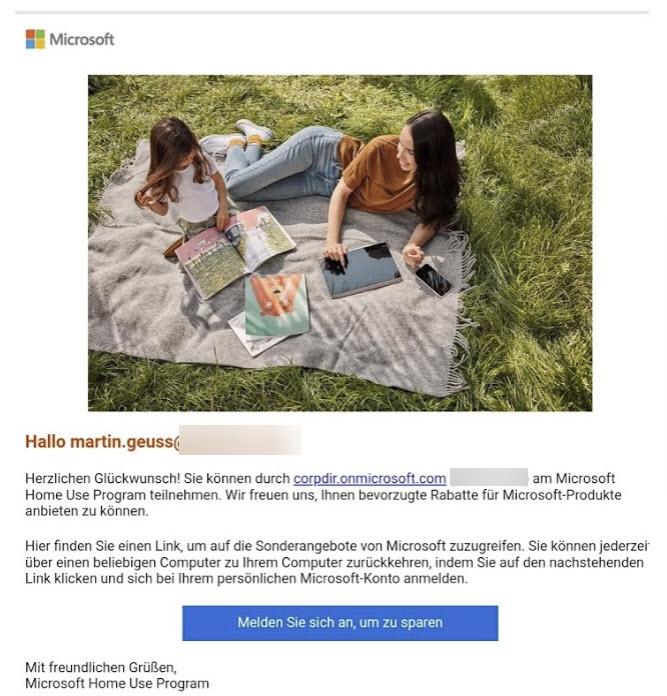 Microsoft Home Use Programm