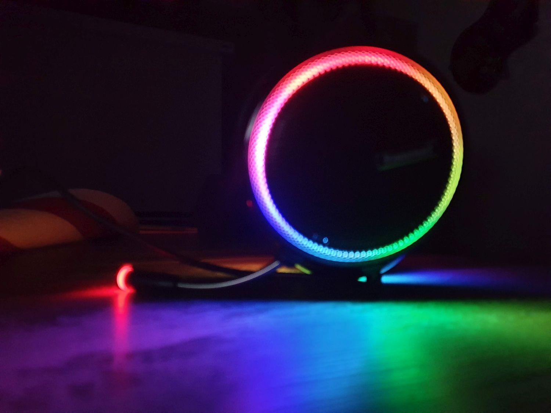 RGB-Leuchteffekte beim Tronsmart Glary