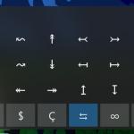 Neue Symbole