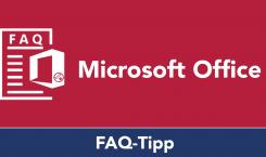 FAQ-Serie zu Microsoft Word: Standardschriftart festlegen