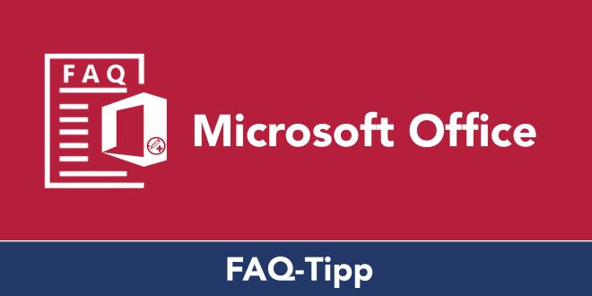 FAQ-Serie zu Word: Serienbrief verfassen