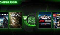 Noch mehr Nachschub für den Xbox Game Pass: Just Cause 4, F1 2018, LEGO Batman 2, Fallout 4