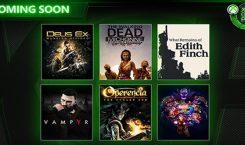 Nachschub: Sechs weitere Titel für den Xbox Game Pass angekündigt