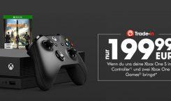 GameStop-Aktion: Xbox One, Switch oder PS4 für eine Xbox One X in Zahlung geben
