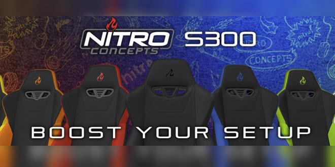Auf die Plätze, sitzen, los. Der S300 von Nitro Concepts im Test