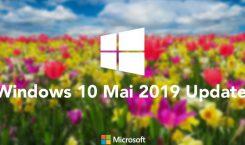 Windows 10 Mai 2019 Update: Übersicht über geschlossene und neue Baustellen