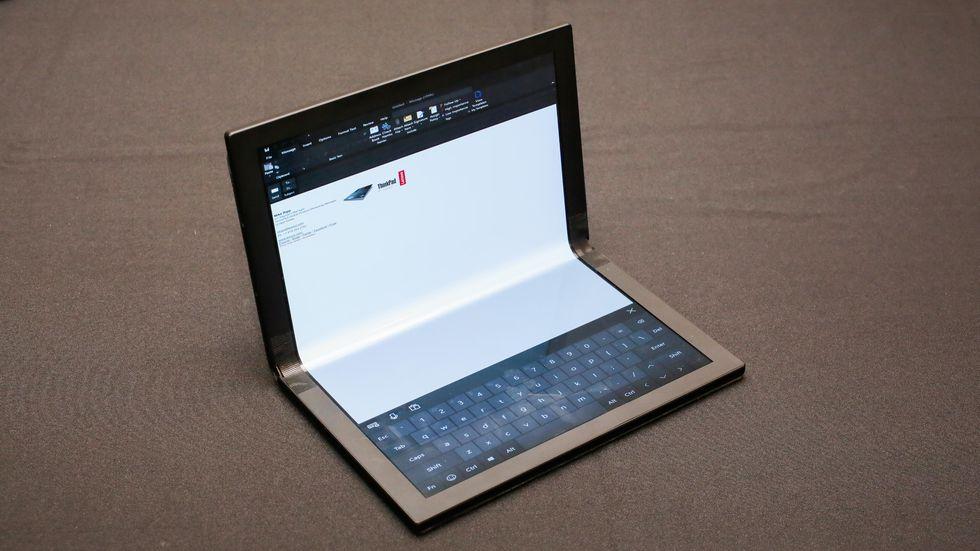 Prototyp eines faltbaren ThinkPad X1