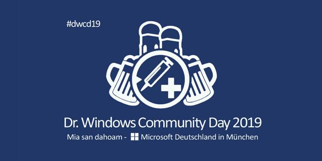 Dr. Windows Community Day 2019: Aufzeichnung aller Sessions jetzt auf YouTube verfügbar
