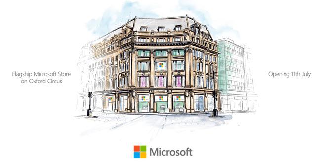 Auf nach London: Microsofts erster Flagship Store in Europa eröffnet heute