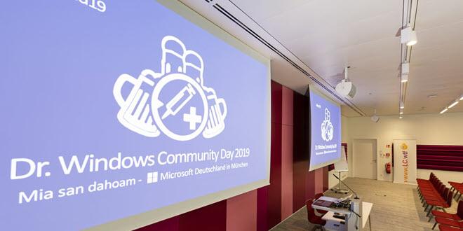 Das war der Dr. Windows Community Day 2019