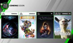 Xbox Game Pass für Xbox und PC mit Resident Evil: Revelations und Goat Simulator