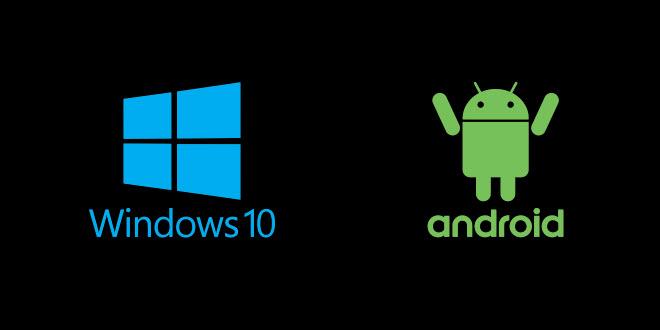 Windows 10 und Android