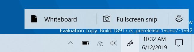 Windows Ink Arbeitsbereich