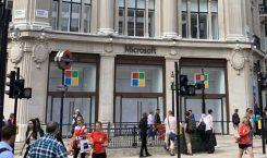Microsoft hat sich in London einen Marken-Tempel gebaut
