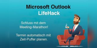 Outlook Meetiong Lifehack
