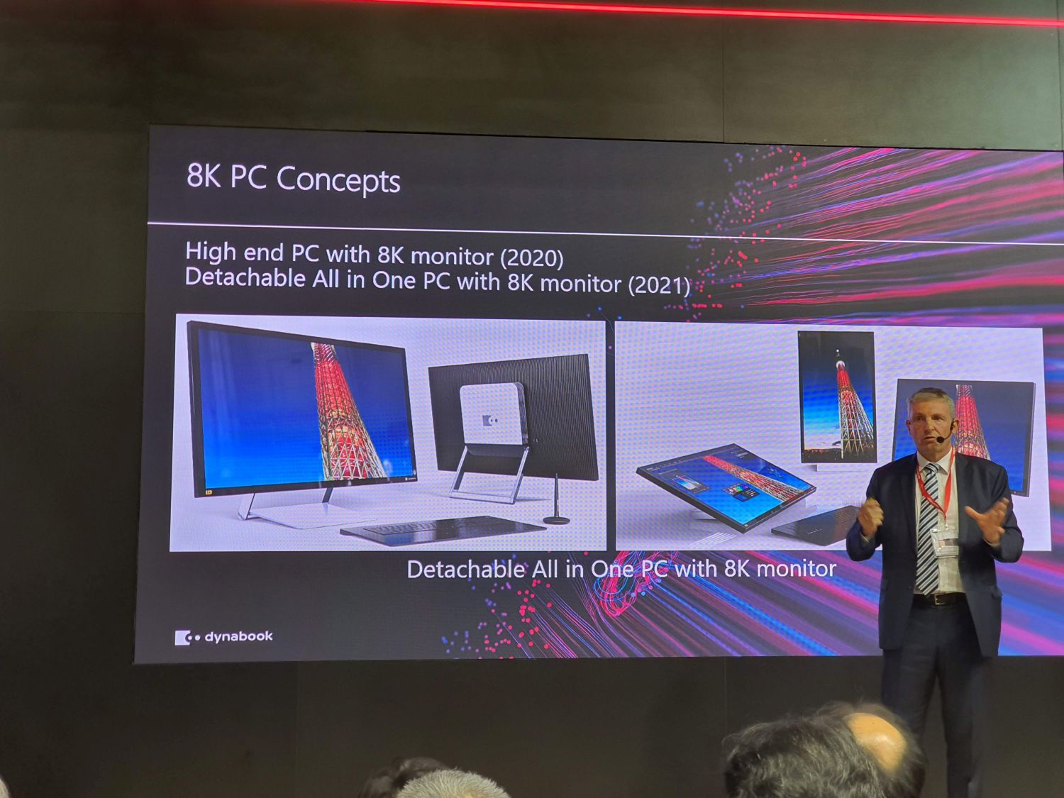 Sharp Dynabook 8k PC