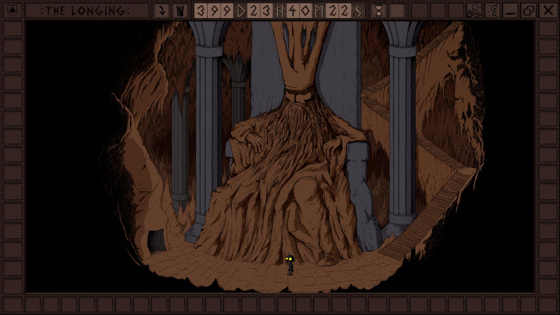 Screenshot von The Longing