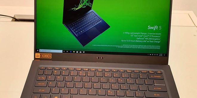 IFA 2019: Acer Swift 3 und Swift 5: HandsOn mit der neuen Mittelklasse