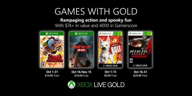 Games with Gold Oktober 2019: Hunde, Elefanten, Ninjas und Psychokiller