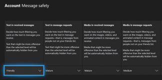 Xbox Message Safety