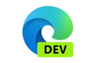 Microsoft Edge Developer Preview