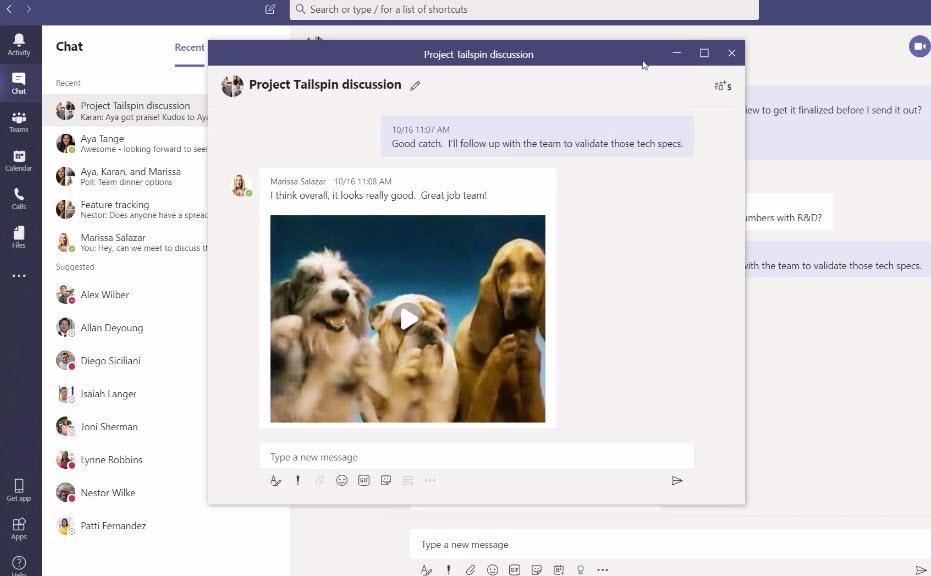 Microsoft Teams Multi Windows