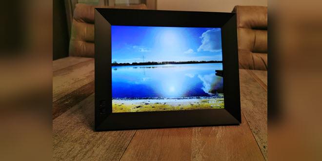 Gadget-Check: Nixplay Smart Photo Frame, ein digitaler WLAN-Bilderrahmen für Fotos und Videos