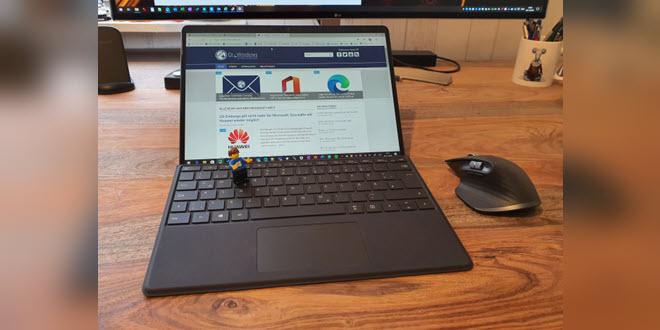 Die ersten 24 Stunden mit dem Surface Pro X