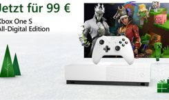 Xbox One S All Digital Edition zum Kampfpreis von 99 Euro