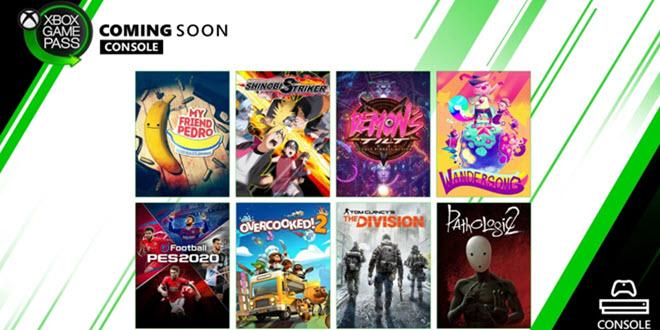 Xbox Game Pass Neuzugänge: Tom Clancy's The Division, PES 2020 und mehr