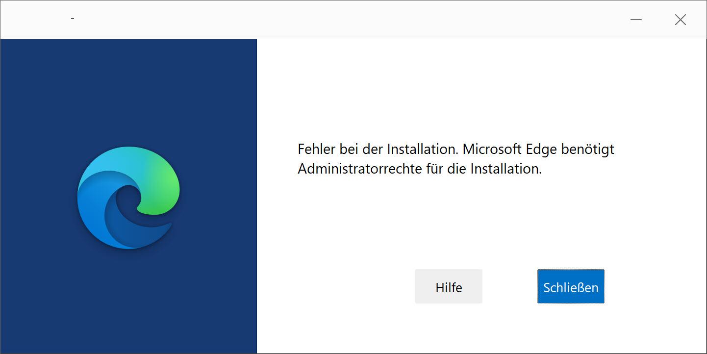 Microsoft Edge Installationsguide