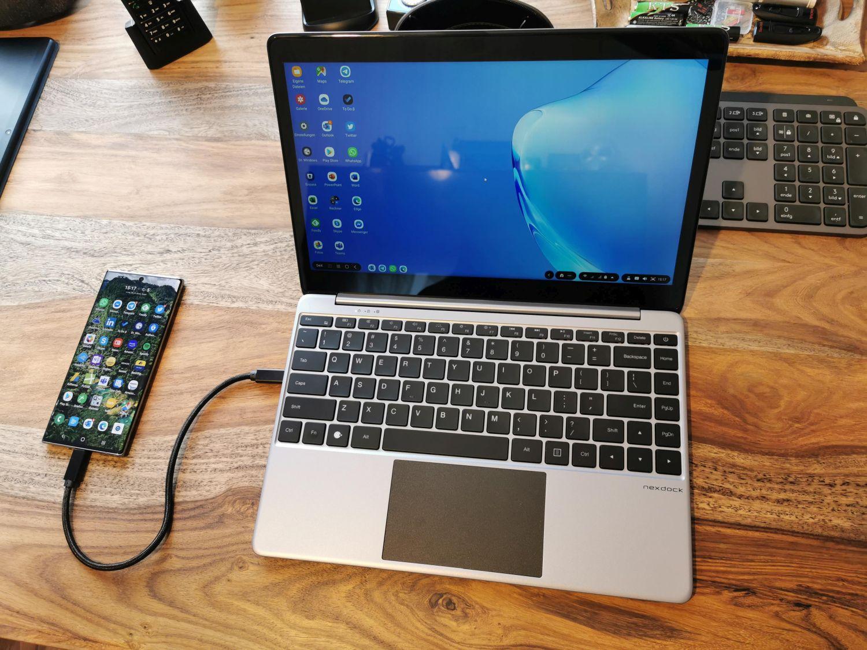 Nexdock v2 mit Samsung DeX Desktop