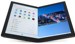 ThinkPad X1 Fold: Lenovo präsentiert faltbares Notebook mit Windows 10X und Pro