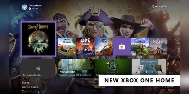 Xbox One Februar Update: Neues Dashboard wird verteilt
