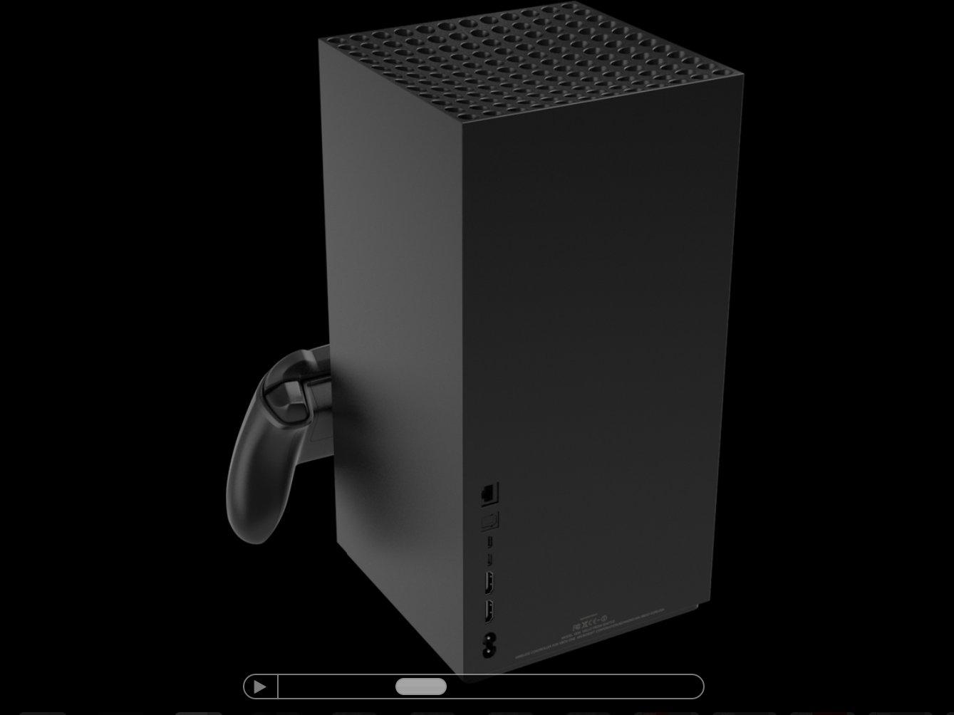 Xbox Series X Renderbild