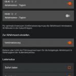 Abfahrts- und Ladetimer in der App BMW Connected.