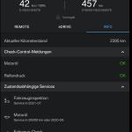 Startseite der kostenlosen Smartphone-App BMW Connected.