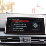 Timer-Einstellungen fürs Laden und die Vorklimatisierung direkt im serienmäßigen BMW Navigationssystem.