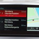 """Übersicht zu aktuellen Verkehrsbeeinträchtigungen gemeldet von anderen Autos mit Here Maps bzw. Nutzern der Here We Go-App. Nur verfügbar, wenn man Abonnent des """"BMW Connected Plus Package"""" ist."""