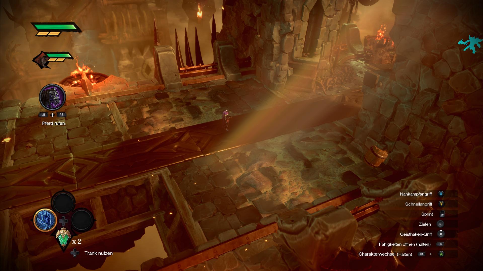 Screenshot aus Darksiders Genesis