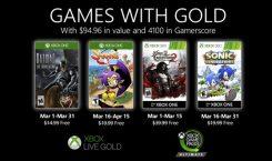 Games with Gold im März mit Batman, Sonic, Shantae und Castlevania