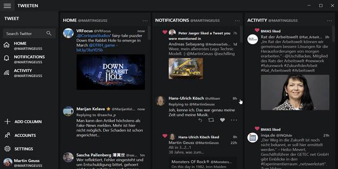 Tweeten 5.0: Beliebter Twitter-Client unterstützt Windows on ARM