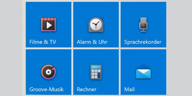 Eye Candy: Viele neue App Icons für Windows 10 Insider