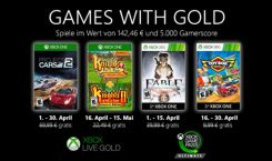 Games with Gold im April 2020 mit Project Cars 2 und Fable Anniversary