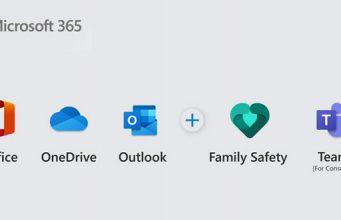 Die Komponenten von Microsoft 365 für Consumer
