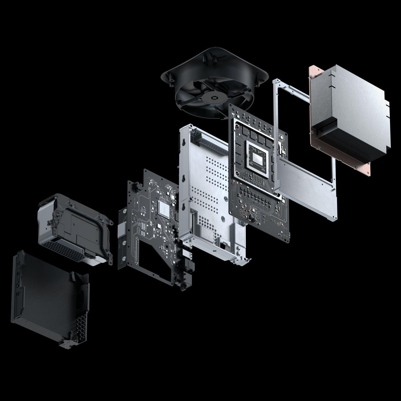 Xbox Series X internes Hardwaredesign