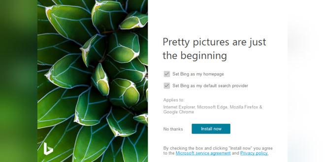 Bing Wallpapers: Microsoft stellt App auch für Android zur Verfügung