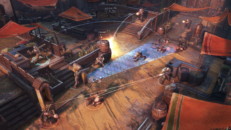 Gears Tactics Gameplay Screenshot