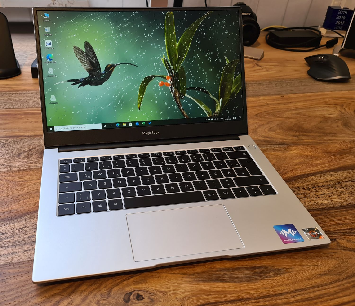 Honor MagicBook 14 Frontansicht