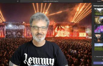 Eigenes Hintergrundbild in Microsoft Teams verwenden